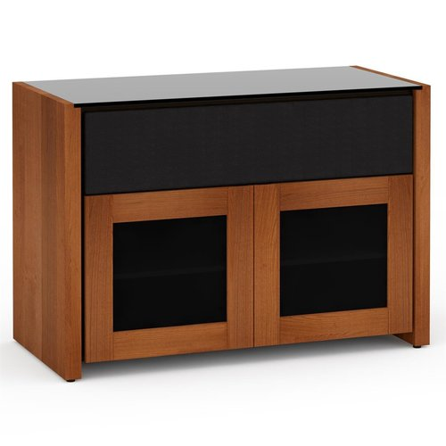 View Larger Image of Corsica 329 Twin A/V Cabinet (American Cherry)