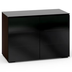 Oslo 323 Twin Cabinet (Wenge with Black)