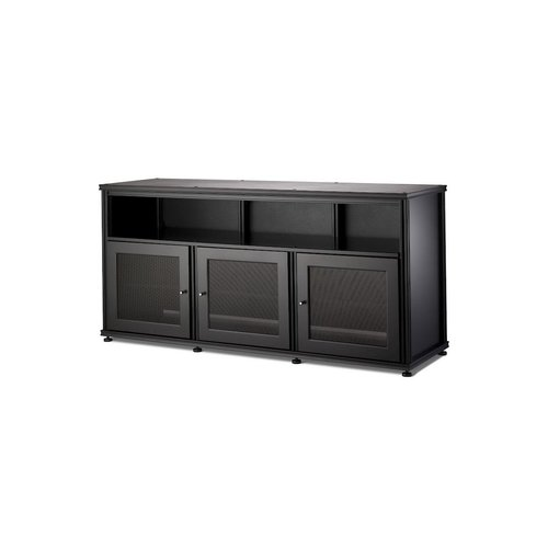 View Larger Image of Synergy 339 Triple Wide A/V Cabinet (Black)