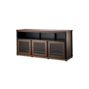 Synergy 339 Triple Wide A/V Cabinet (Cherry & Black)