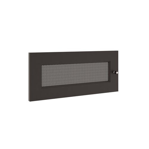 View Larger Image of Synergy AV Cabinet Steel Door (Black/Perforated)