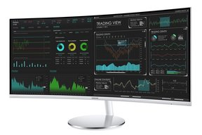 "CJ791 34"" Thunderbolt 3 Ultra Wide Screen Curved Monitor"