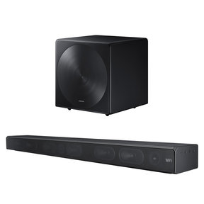 HW-MS650 3 Channel Sound+ Premium Soundbar with SWA-W700 Wireless Sound+ Subwoofer (Black)