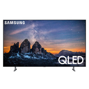 "QN55Q80R 55"" QLED 4K UHD Smart TV with Bixby Intelligent Voice Assistant"