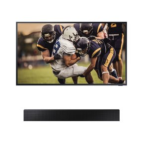 "QN65LST7TA 65"" The Terrace QLED 4K UHD Outdoor Smart TV with HW-LST70T The Terrace Sound Bar"