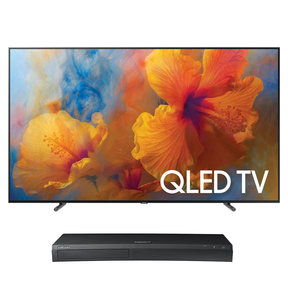 "QN65Q9F 65"" 4K UHD HDR 4K QLED Smart TV with UBD-M9500 4K Ultra HD Blu-ray Player"