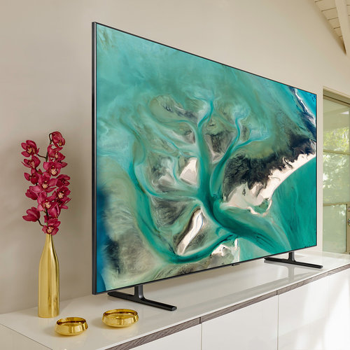 "View Larger Image of QN75Q80R 75"" QLED 4K UHD Smart TV with Bixby Intelligent Voice Assistant"