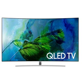 "QN75Q8C 75"" Curved 4K UHD HDR QLED Smart TV"