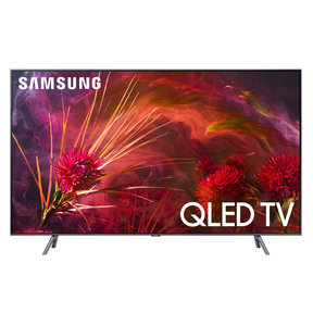 """QN75Q8FN 75"""" QLED 4K UHD HDR Smart TV with Bixby Intelligent Voice Assistant"""