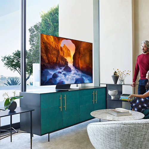 """View Larger Image of QN75Q90R 75"""" QLED 4K UHD Smart TV with Bixby Intelligent Voice Assistant"""