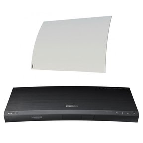 UBD-K8500 4K Ultra HD Blu-ray Player with Built-In Wi-Fi and Mohu Curve 50 Indoor Amplified HDTV Antenna (White)