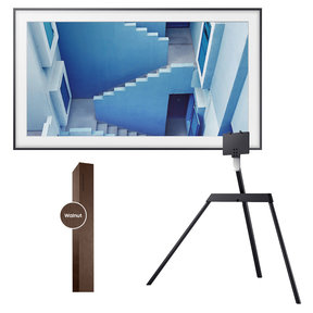 "UN65LS003 65"" The Frame 4K UHD Smart TV with 65"" Customizable Bezel and Studio Stand"