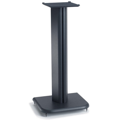 """View Larger Image of BF24 24"""" Basic Foundations Speaker Stands - Pair (Black)"""