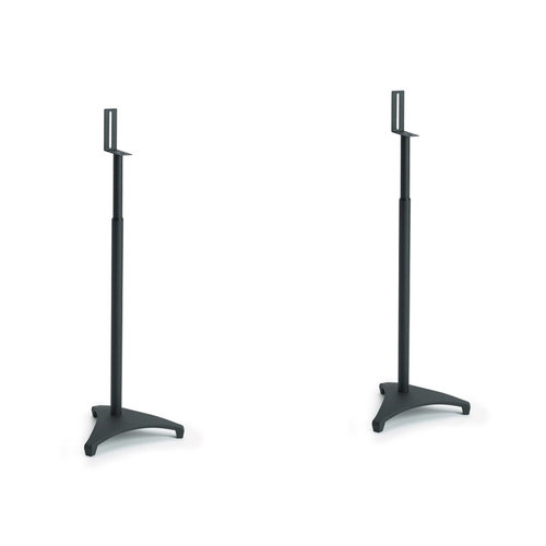 View Larger Image of EFSat Adjustable Stands for Satellite Speakers - Pair (Black)