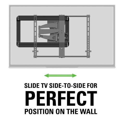 "View Larger Image of VMF620 Full Motion TV Mount for 40"" - 50"" TV"