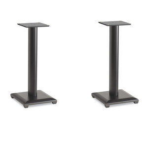 """NF24B Natural Foundations 24"""" Speaker Stand - Pair (Black Lacquer)"""