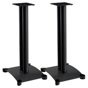 """SF26 Steel Series 26"""" Tall Stand for Medium to Large Bookshelf Speakers"""