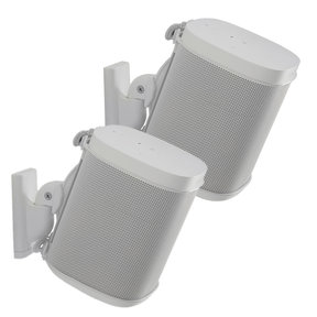 Wireless Speaker Swivel and Tilt Wall Mounts for Sonos ONE, PLAY:1, and PLAY:3 - Pair