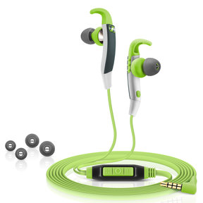 CX 686G In-Ear Sport Headphone with Microphone (Green)