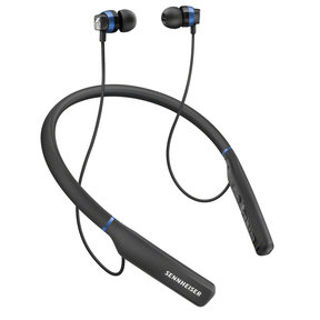CX 7.00BT Wireless Neckband Earbuds with Built-In Remote and Microphone (Black)