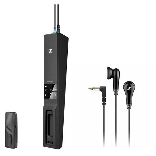 View Larger Image of Flex 5000 Digital Wireless Audio Transmitter and Receiver with MX 475 Earphones