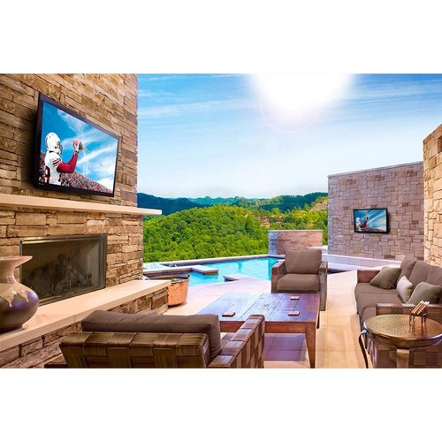 """View Larger Image of 55"""" Class Storm Ultra Bright Weatherproof Outdoor TV (Black)"""