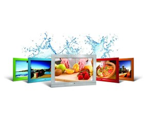 "Hydra 19"" Waterproof LCD TV-Stainless Steel"