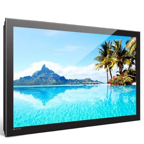"""STRM-84.4-S 84"""" 4K UHD Storm Waterproof Outdoor TV for Shaded Areas (Black)"""
