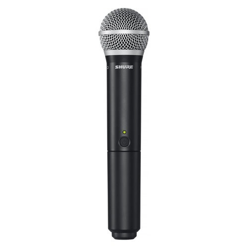 View Larger Image of BLX2/PG58-H9 Handheld Wireless Microphone Transmitter