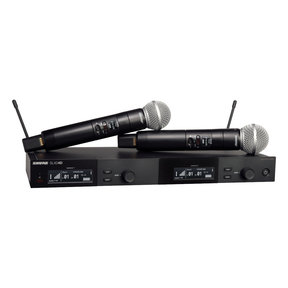 Dual Wireless Vocal System with SM58