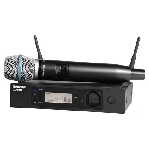 View Larger Image of GLXD24R/B87A Wireless Handheld Dynamic Microphone System