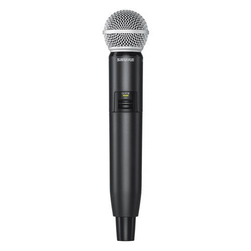 View Larger Image of GLXD24R/SM58 Wireless Handheld Microphone System