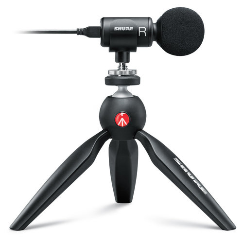 View Larger Image of MV88+ Video Kit with Premium Digital Stereo Condenser Microphone