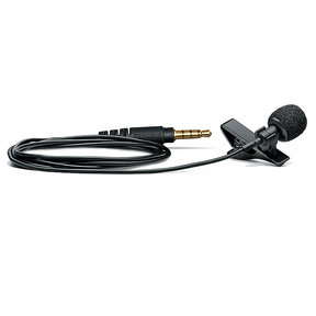MVL/A Omnidirectional Lavalier Microphone for Mobile Devices