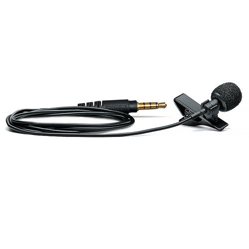 View Larger Image of MVL/A Omnidirectional Lavalier Microphone for Mobile Devices