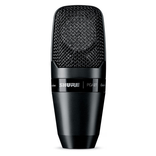 View Larger Image of PGA27-LC Large Diaphragm Side-Address Cardioid Condenser Microphone
