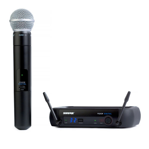 View Larger Image of PGXD24/SM58-X8 Handheld Wireless System