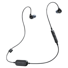 SE112 Wireless Sound-Isolating Earbuds with Three-Button Remote and Microphone (Black)
