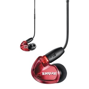 SE535 Sound-Isolating Earbuds with RMCE-UNI Cable (Red)