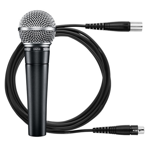View Larger Image of SM58 Handheld Dynamic Vocal Microphone with Cable