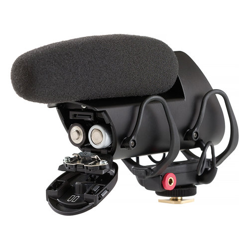 View Larger Image of VP83F LensHopper Camera-Mount Condenser Microphone with Integrated Flash Recording