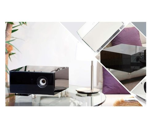 View Larger Image of Crystal Cube Special Edition DLP Projector ( Black )