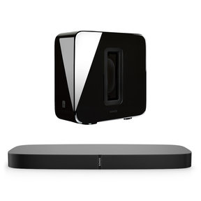 3.1 PLAYBASE Home Theater System with SUB Wireless Subwoofer