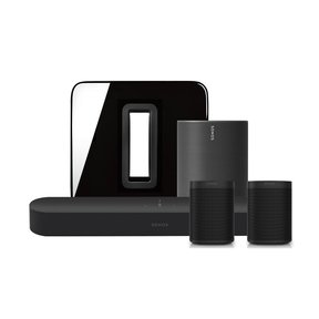 5.1 Beam Surround Set with Move Smart Speaker for Outdoor (Black)