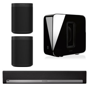 5.1 Home Theater System with ONE (Pair), PLAYBAR, and SUB