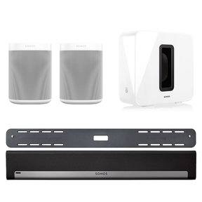 5.1 Home Theater System with ONE (Pair), PLAYBAR with Wall Mount Kit, and SUB