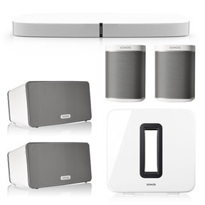 5.1 Home Theater System with PLAYBASE, PLAY:1, PLAY:3, and SUB Wireless Subwoofer
