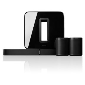 5.1 PLAYBASE Home Theater System with ONE Streaming Speakers (Pair) and SUB Wireless Subwoofer
