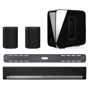 5.1 Surround Set with Sonos One Gen 2, SUB, PLAYBAR with Wall Mount Kit