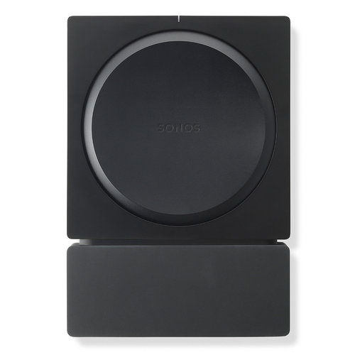 View Larger Image of Amp Wireless Hi-Fi Player with Flexson Wall Mount (Black)